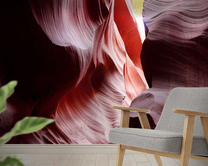 Sfeerimpressie behang: Lower Antelope Canyon van Erik Koks