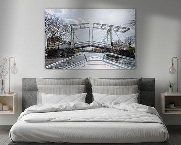 Open brug over de Vecht van Kaj Hendriks