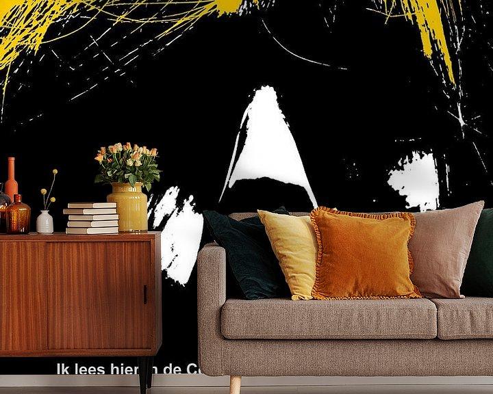 Sfeerimpressie behang: Dolende Dertigers: Het Moeilijk Hebben! van MoArt (Maurice Heuts)