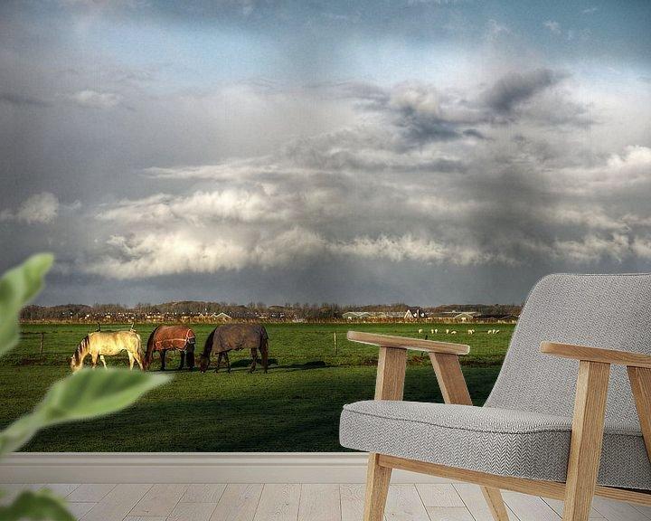 Impression: Wolkenparaplu sur Mike Bing