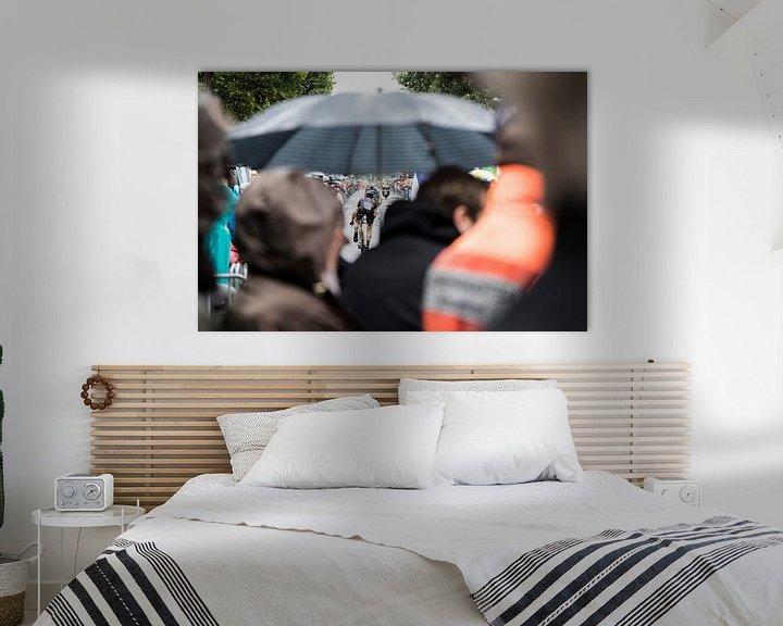 Sfeerimpressie: Schuilen voor de regen van Leon van Bon
