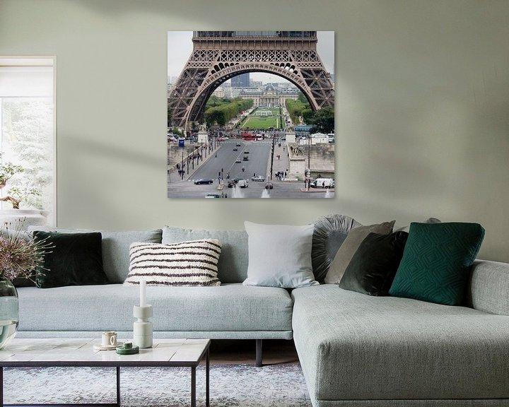 Sfeerimpressie: Parijs Eifeltoren van Jim van Iterson
