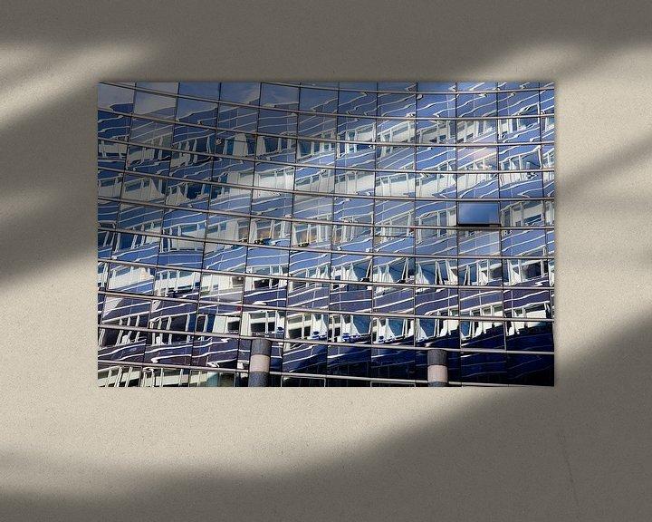 Impression: Blauwe vensters sur Jim van Iterson