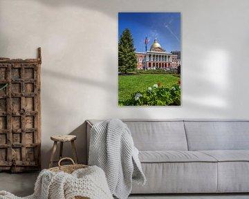 BOSTON Massachusetts State House van Melanie Viola