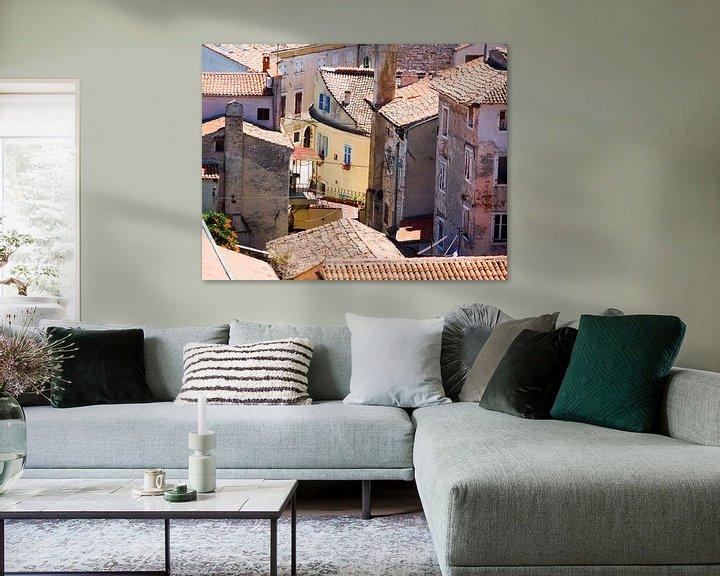Impression: Italiaanse huizen sur Jim van Iterson