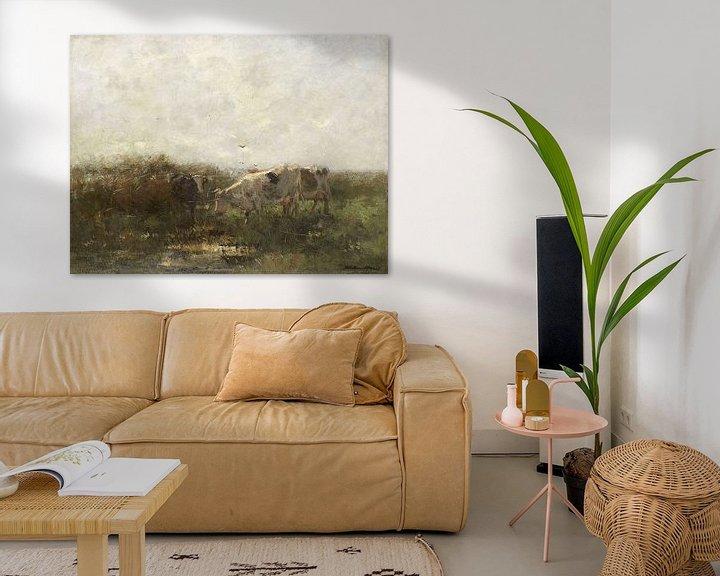 Sfeerimpressie: Koeien, Willem Maris