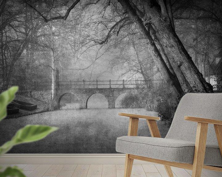 Sfeerimpressie behang: Fairytale van Simone Sterkenburg