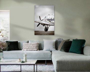 Vintage Douglas DC-3 sur Sjoerd van der Wal
