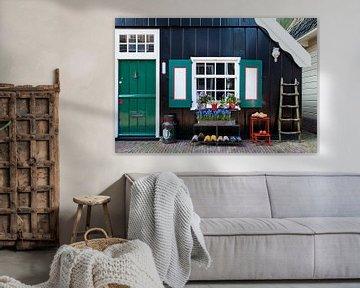 Vissershuisje in Marken sur Portrait of Holland