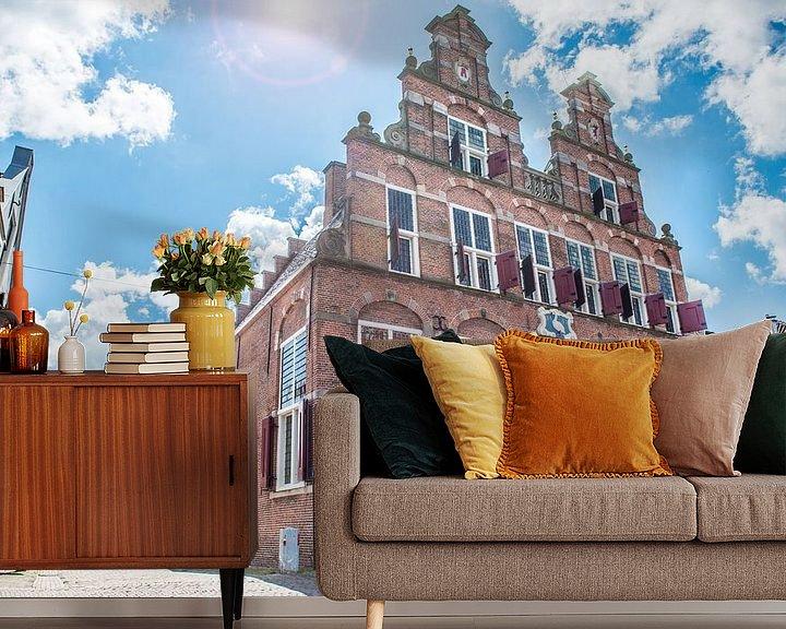 Sfeerimpressie behang: Huize Swaensteyn in Voorburg van Barbara Koppe