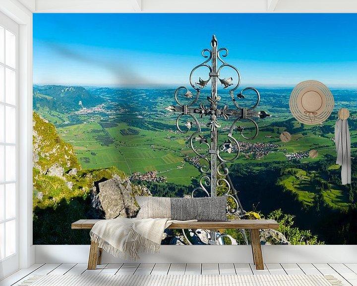 Beispiel fototapete: Gipfelkreuz von Walter G. Allgöwer