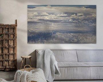 Spannende wolkensymfonie van Betty van Engelen