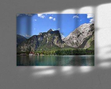 Lake King met St. Bartholomä van Christine Nöhmeier