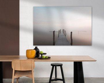 Steiger in de mist van RWNL Fotografie