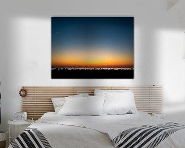 zonsondergang van Thomas Spaans