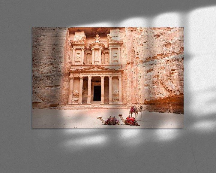Sfeerimpressie: Petra - Jordanie van Laura Vink