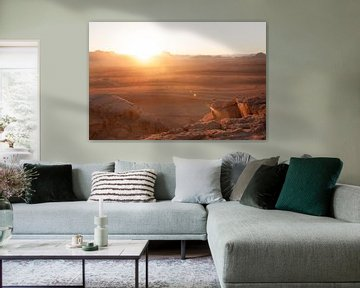 Wadi Rum Sonnenaufgang – Teil 2, Jordanien von Laura Vink