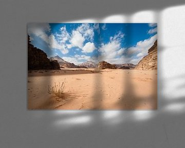 Wadi Rum Woestijn van Laura Vink