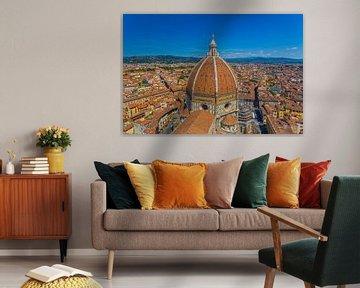 Florenz, Italien - Blick auf die Stadt - 2 von Tux Photography
