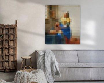 Pixel Art: Das Milchmädchen von JC De Lanaye