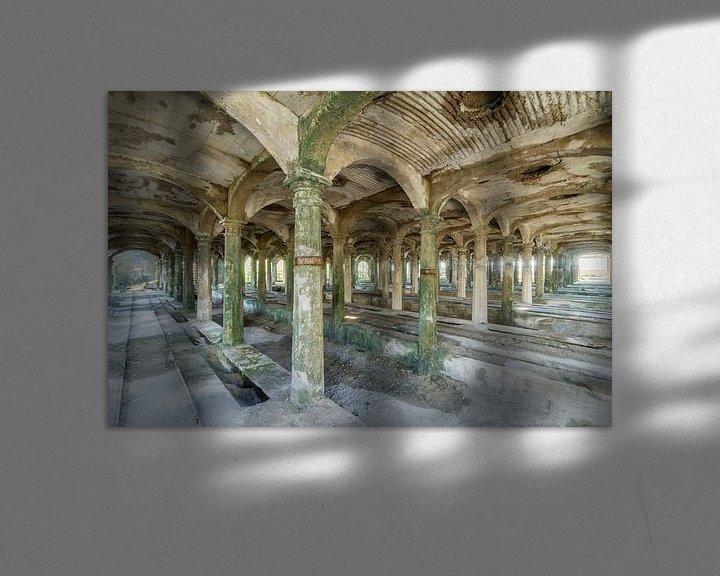 Beispiel: Verlaten cementfabriek von Truus Nijland