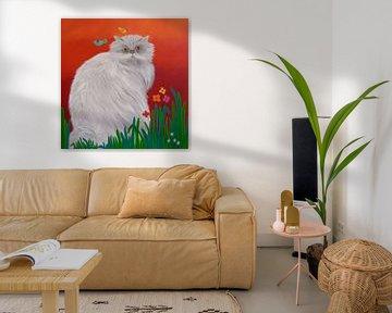 Persian Cat von Yvonne Klaassens