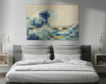 Pixel Art: De Grote Golf van JC De Lanaye