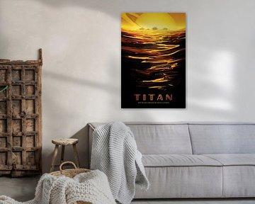 Titan - Ride the tides through the throat of kraken van Visions of the Future