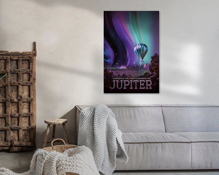 Sfeerimpressie: Jupiter - Experience the mighty auroras van Visions of the Future
