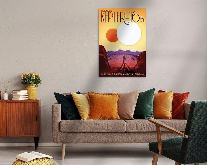 Sfeerimpressie: Kepler-16b - Where your shadow always has company van Visions of the Future