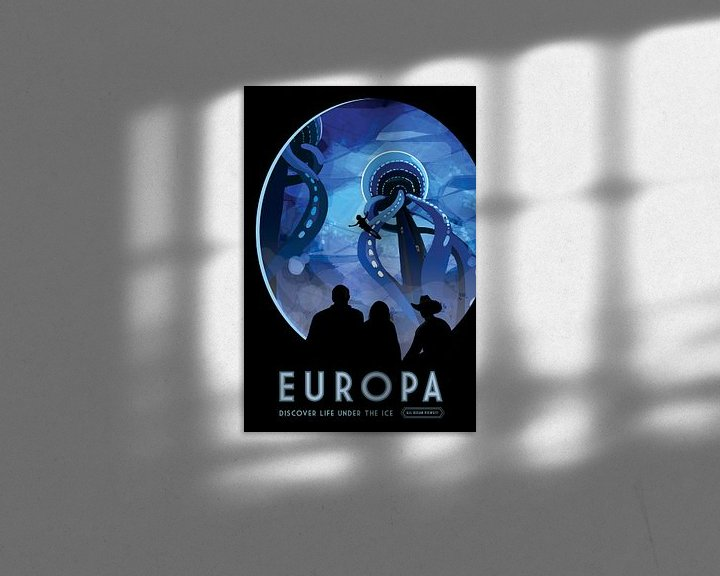 Sfeerimpressie: Europe - Discover life under ice van Visions of the Future