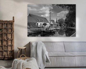 Harmelen in schwarz / weiß von Jan Koppelaar