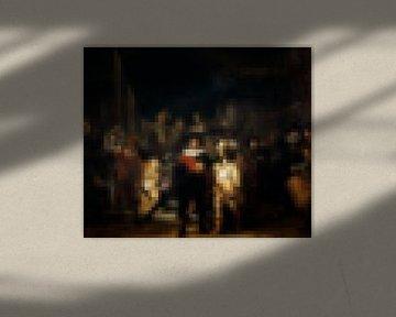 Pixel Art: Die Nachtwache von JC De Lanaye