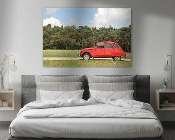 Citroën 2cv in de zon von Theo Joosten