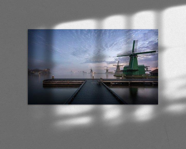 Beispiel: Zaanse Schans von Photo Wall Decoration