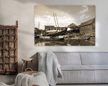 Oude scheepswerf sur Nathalie van der Klei