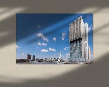 Die Rotterdam und die Erasmusbrücke (horizontal)