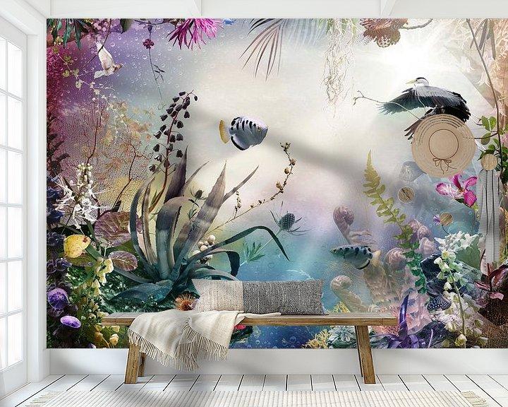Sfeerimpressie behang: Immersion van Jesper Krijgsman