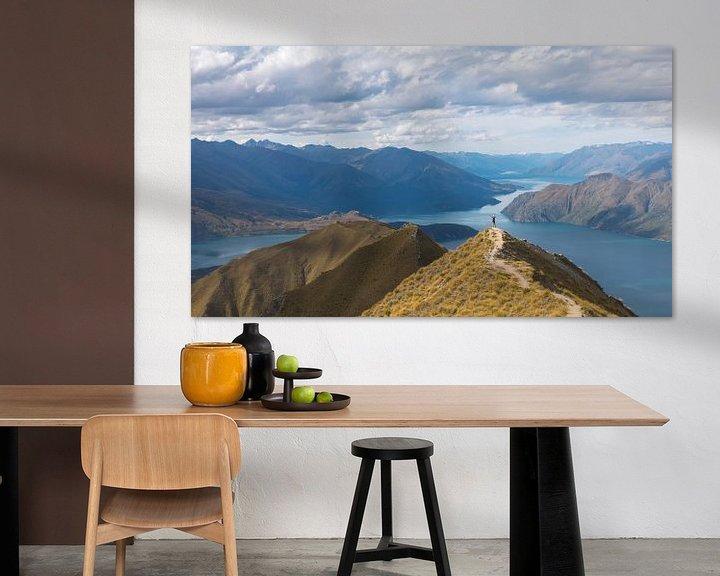 Beispiel: Roys Peak, Wanaka von Jasper van der Meij