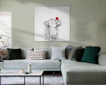 HeartFlow Koe 1 von Helma van der Zwan