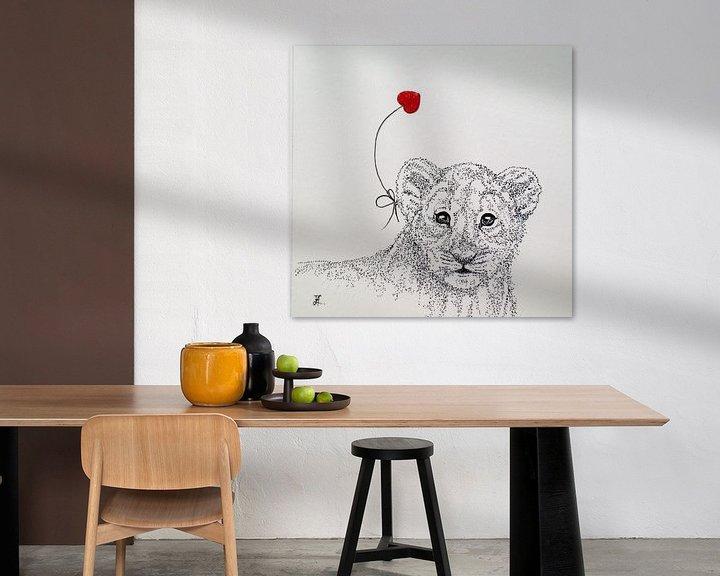 Sfeerimpressie: HeartFlow Leeuwenwelp van Helma van der Zwan