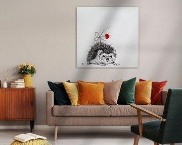 HeartFlow Egel 1 von Helma van der Zwan