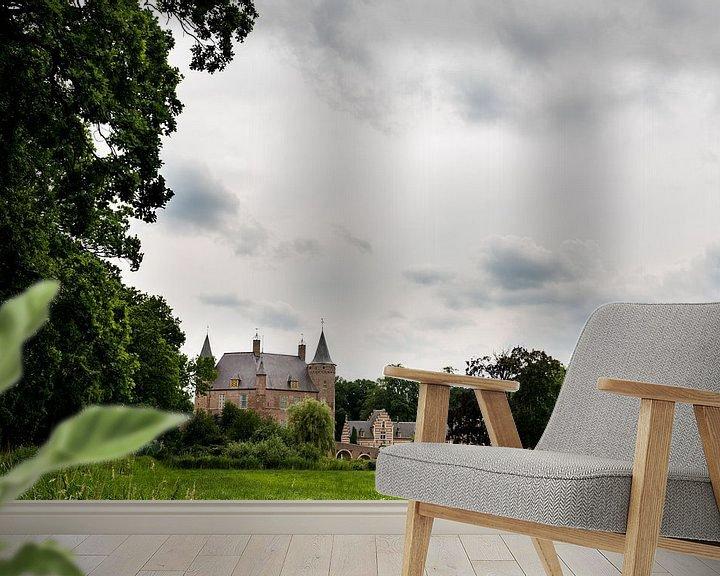 Sfeerimpressie behang: Kasteel Heeswijk Noord brabant van Brian Morgan