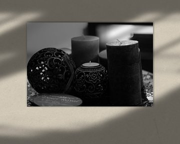 Kaarsen Decoratie  von Joshua Van hugte