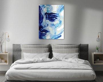 Blauw, blauw, ik hou van jou van ART Eva Maria