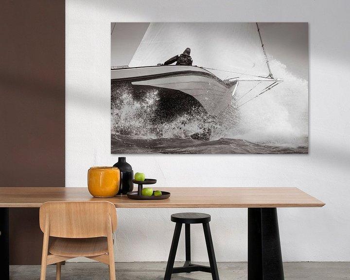 Sfeerimpressie: Skûtsje de Striidber op IJsselmeer van ThomasVaer Tom Coehoorn