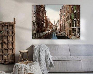 Oudezijds Kolk, Amsterdam von Vintage Afbeeldingen