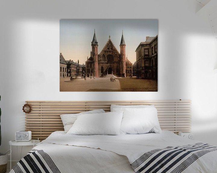 Sfeerimpressie: Ridderzaal, Binnenhof, Den Haag van Vintage Afbeeldingen