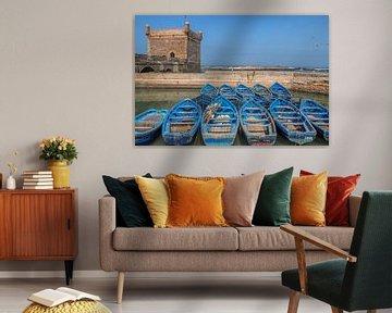 Vissersbootjes Essaouira (Marokko) von Tux Photography