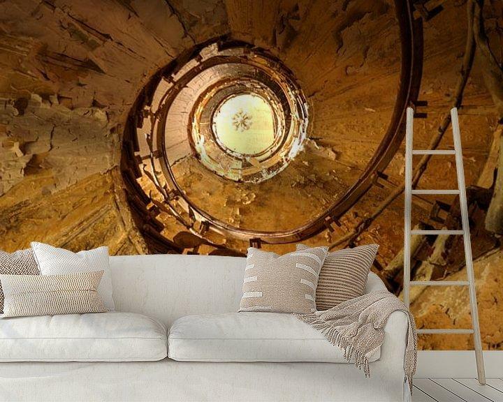 Sfeerimpressie behang: Vortex van W Janssen